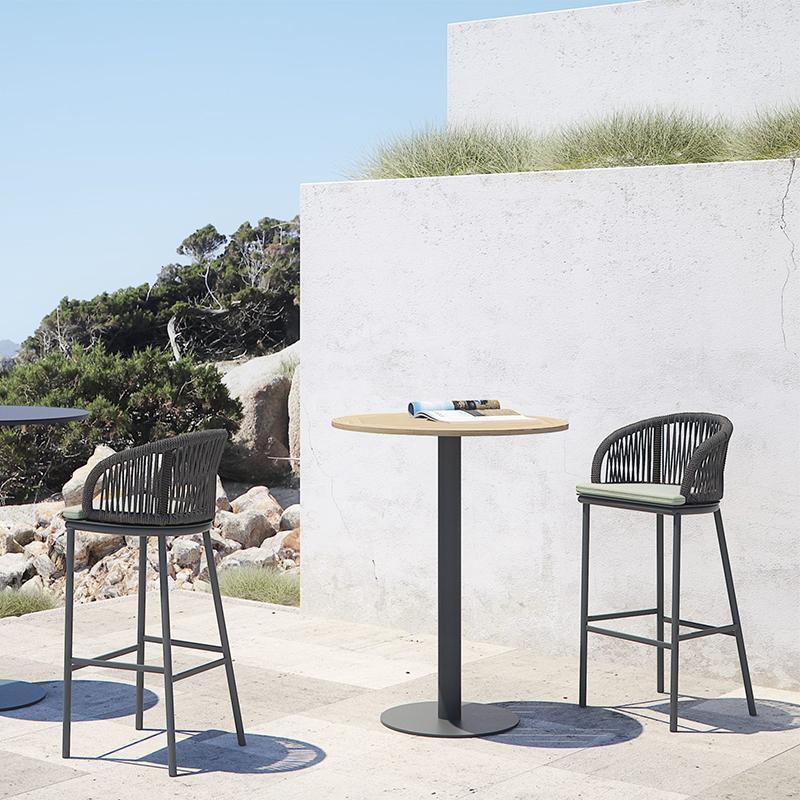 MG-AT01吧台吧椅新款吧椅套装编绳户外室内通用