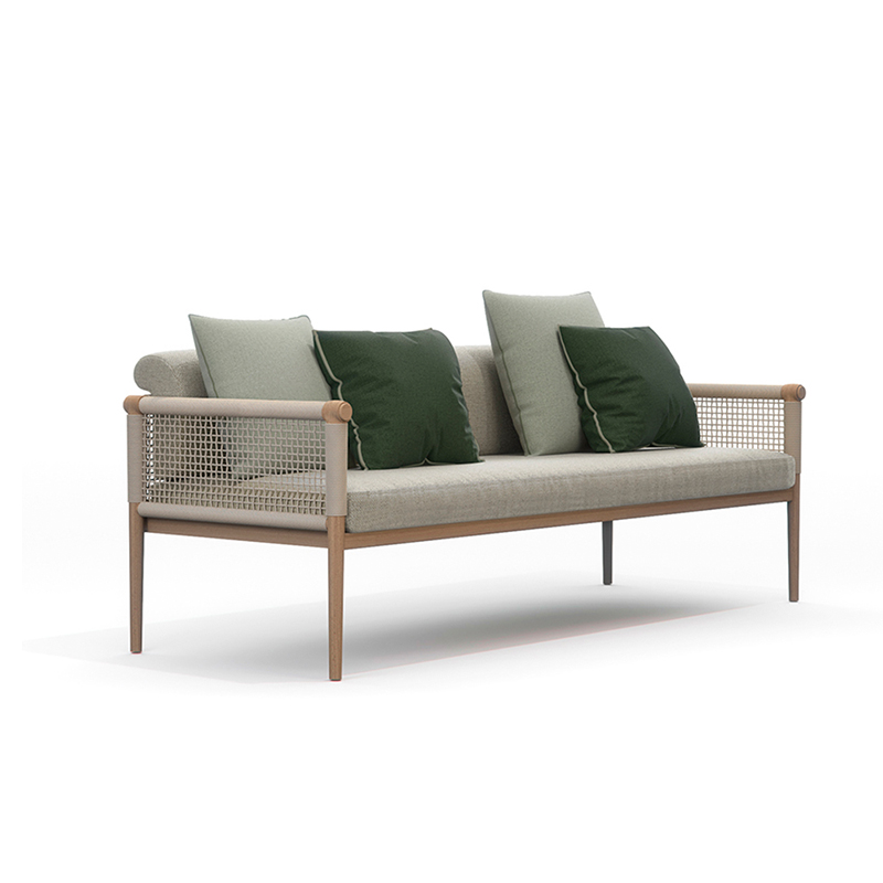 MG-AT04柚木沙发套装高档酒店别墅豪宅专用