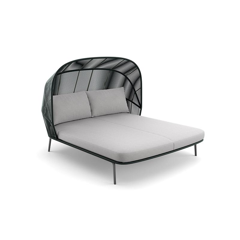 MG-D02 户外躺床阳台景观设计师新款编绳躺床