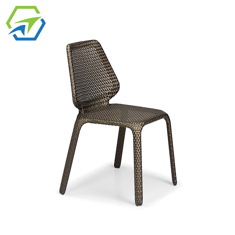 MG-D03椅子 户外藤编沙发组合客厅 藤制室外庭院户外家具藤椅单人