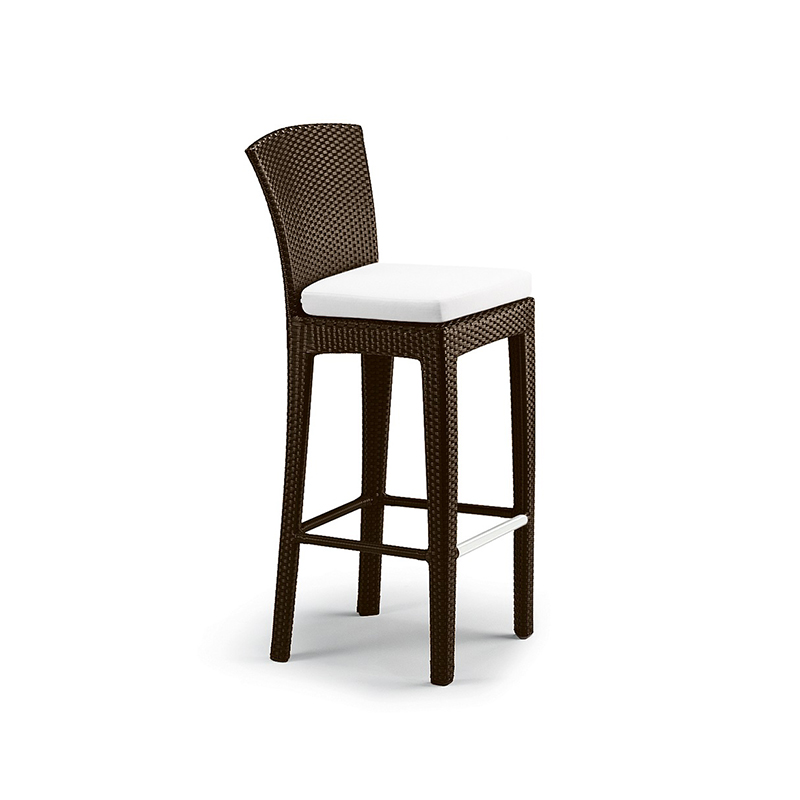 MG-D04吧椅吧台 户外编藤酒店阳台酒馆吧椅套装