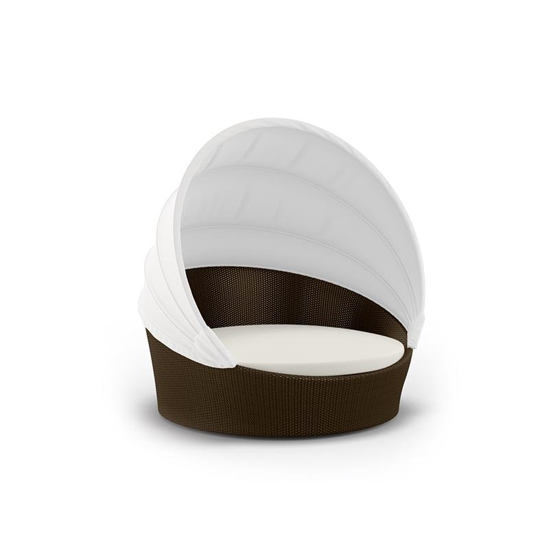 MG-D05户外圆床室内藤椅家具北欧简约东南亚藤沙发酒店样板房