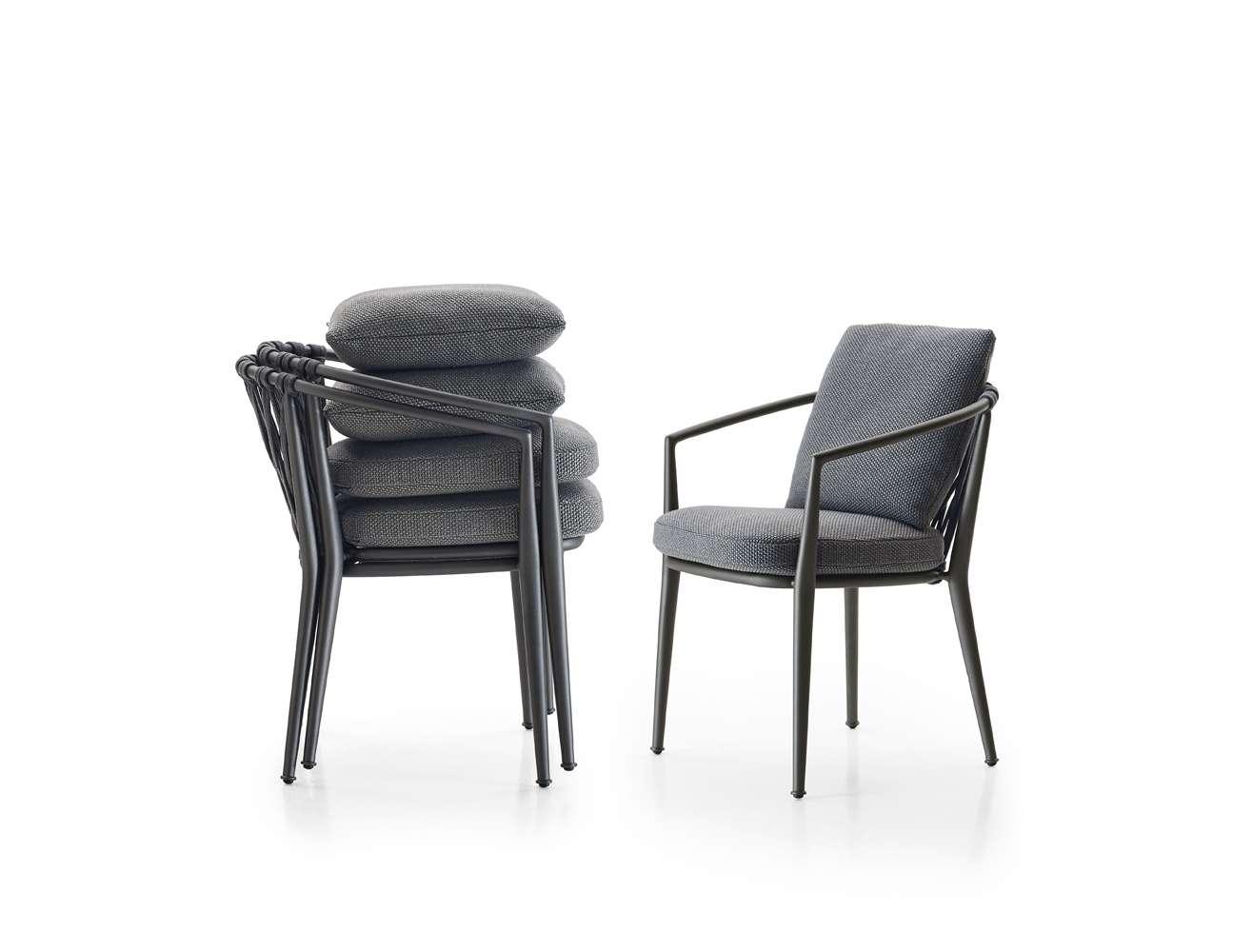 MG-Z08桌椅北欧户外桌椅藤编阳台桌椅藤椅别墅庭院花园家具室外院子休闲餐桌