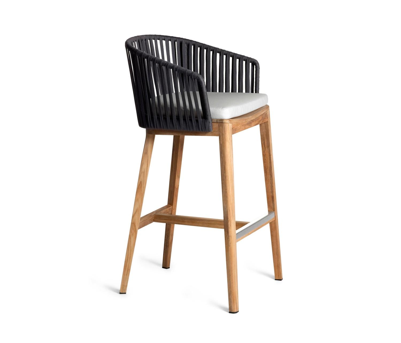 MG-08 吧椅吧台进口柚木高端户外实木吧台吧椅套装