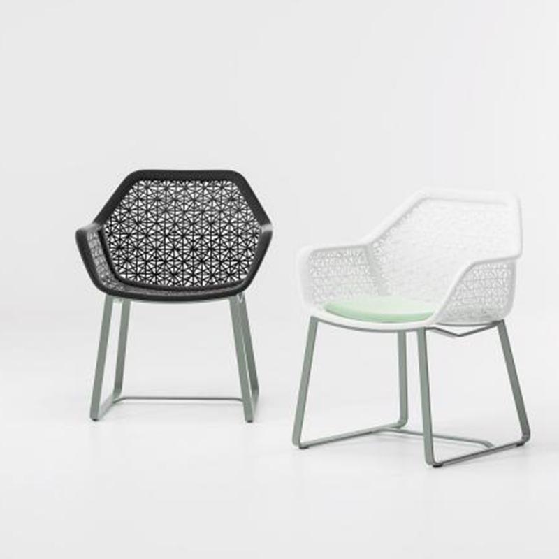 MG-L152椅子 新款设计师编绳编藤椅子