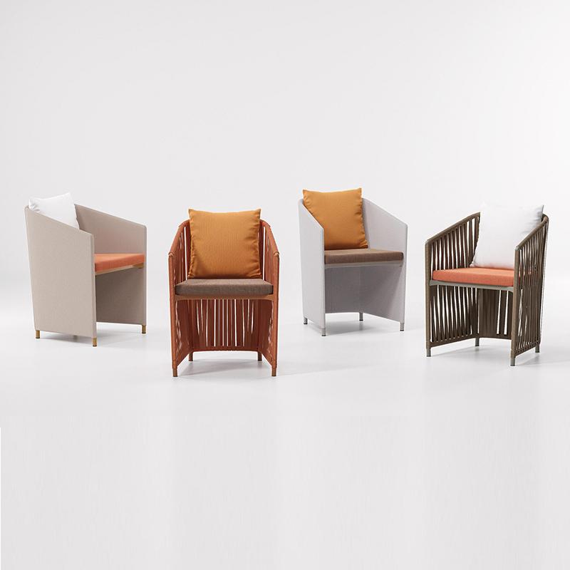 MG-L162椅子 新款设计师户外餐椅高档室内椅子