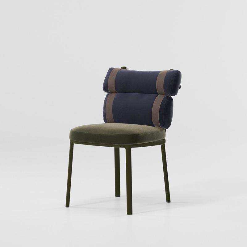 MG-L165餐椅 新款设计师户外椅子餐桌餐椅套装