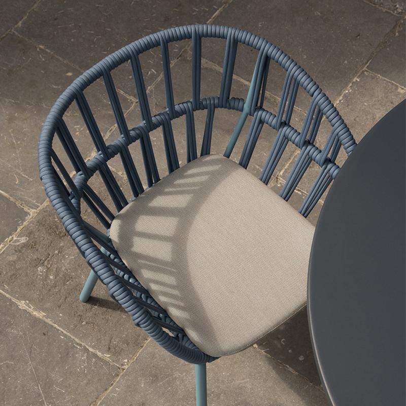 MG-L174椅子 新款编绳椅子户外餐桌餐椅