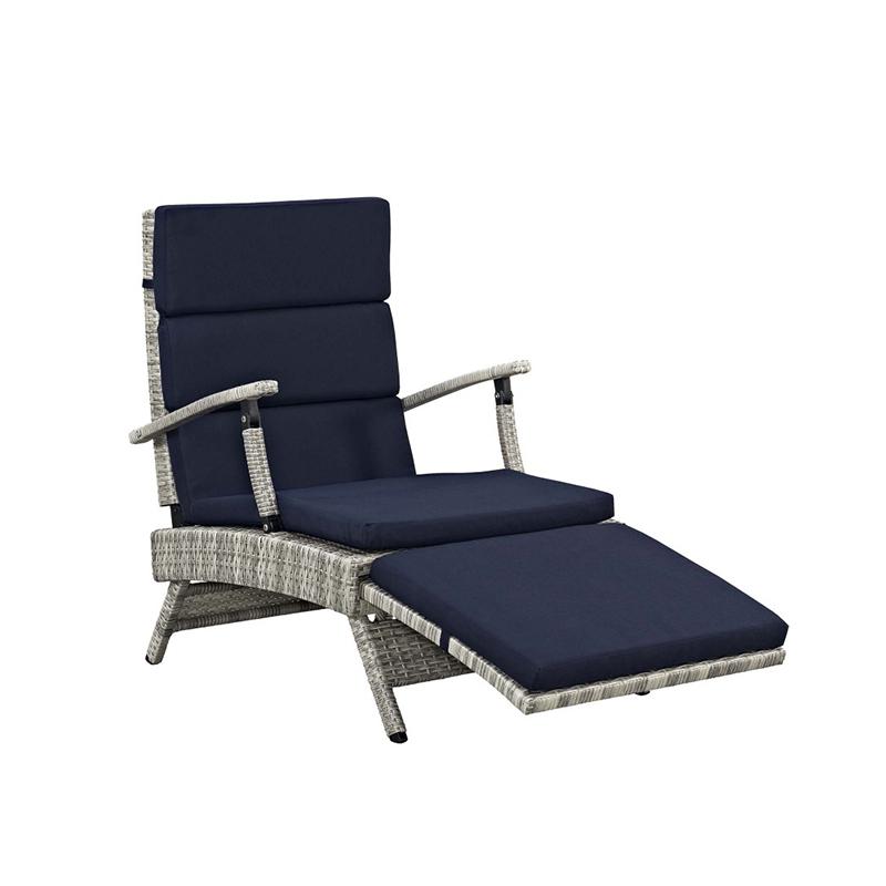 MG-L185单人位 可调节户外编藤单人椅高档休闲椅