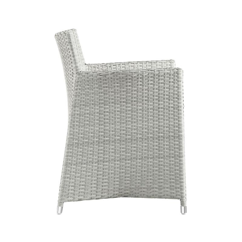 MG-L190餐椅餐桌 户外家具编藤餐桌椅套装