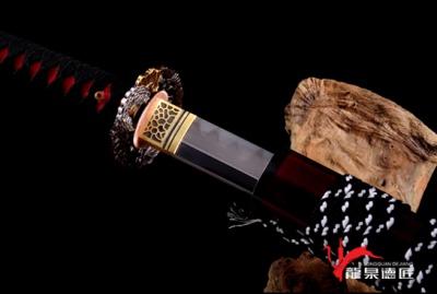 岛津贵久武士刀-百炼钢烧刃