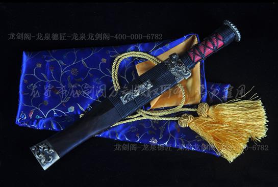 迷你八面小汉剑A款-百炼花纹钢