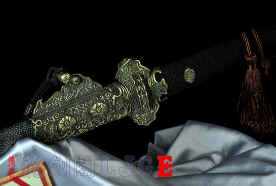 豪华装唐刀-千层钢烧刃