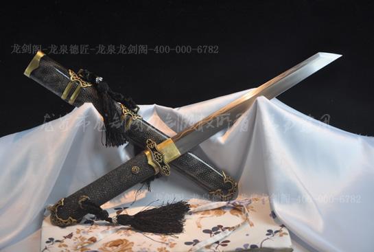 短款唐刀-百炼钢烧刃