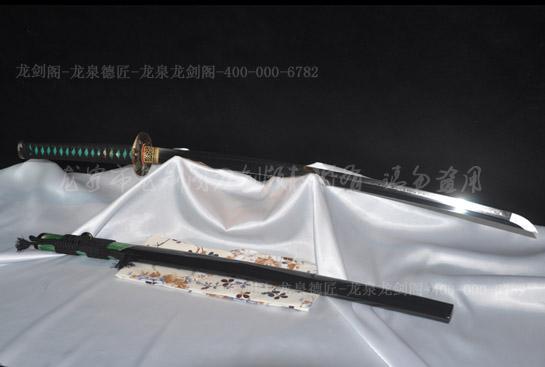 板垣信方武士刀-1095钢水淬