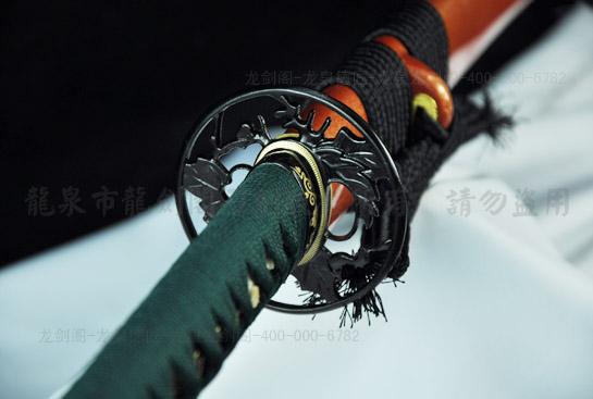 四叶拵武士刀-高弹性锰钢