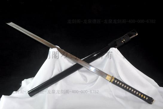 日式刹摩唐刀-百炼钢烧刃
