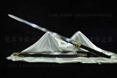新装六面汉剑-百炼花纹钢