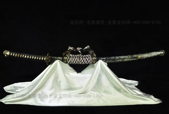 伊贺太刀-千层钢烧刃