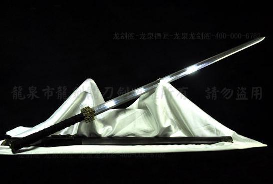 铜装八面汉剑-羽毛钢