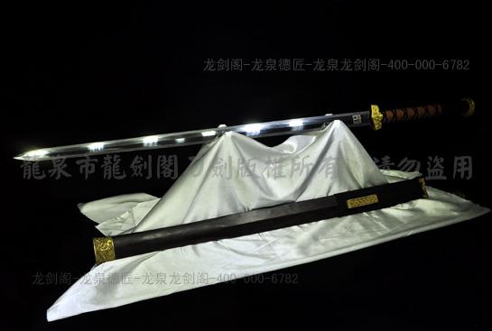 精品战国剑-精炼羽毛钢