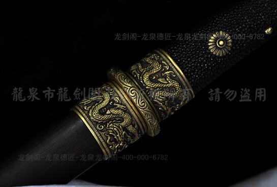 专利作品·龙装环首唐刀-包钢(甲伏锻)