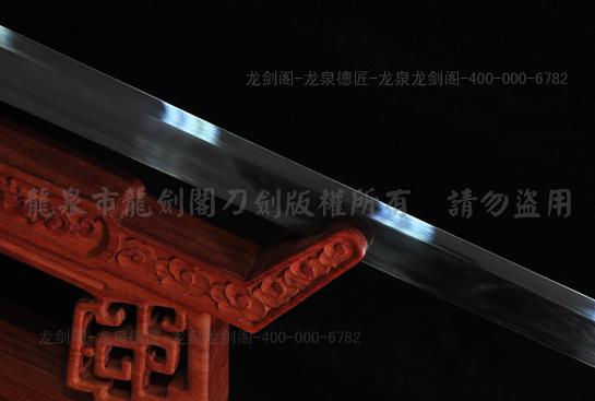 专利作品·龙装环首唐刀-弹性锰钢