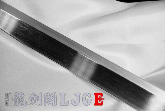 专利作品·龙装环首唐刀-弹性花纹钢