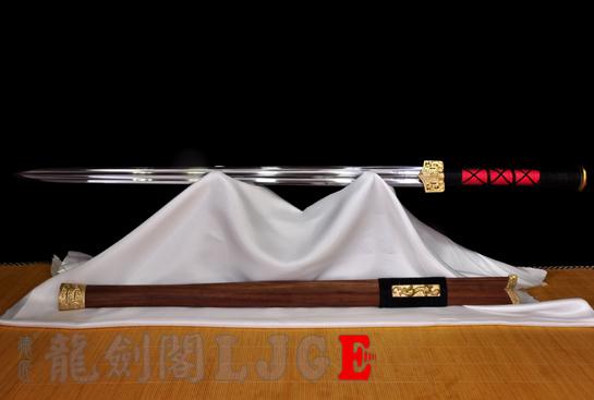 铜装双槽汉剑-锰钢