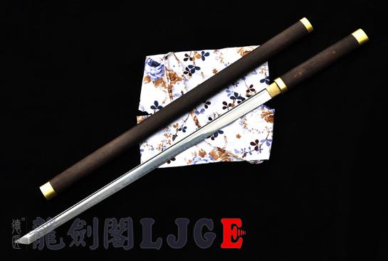 宽刃素装唐刀-T10烧刃