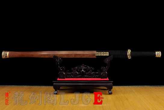 扁柄战国汉剑-百炼钢