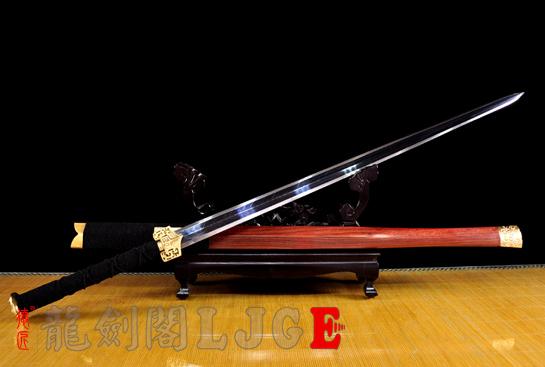 亮铜装八面汉剑-羽毛钢