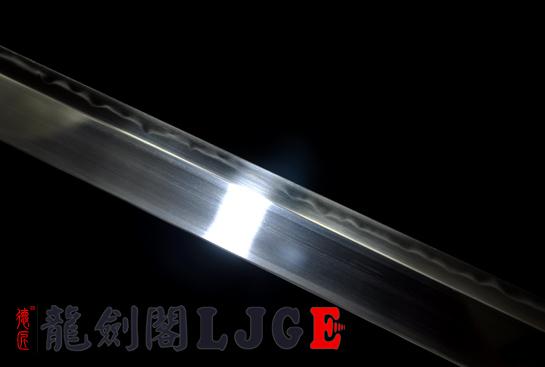 鱼皮柄简装唐刀-T10烧刃