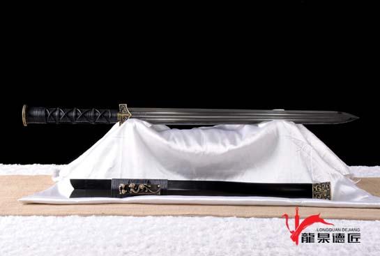 精装赵云剑-赤壁剑-扭转百炼钢烧刃