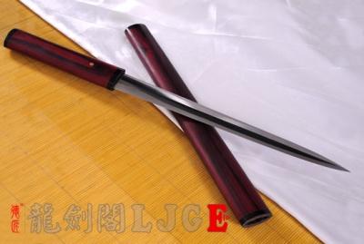 精品八面短剑-羽毛钢