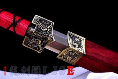 新合金四圣汉剑-锰钢-可砍铁