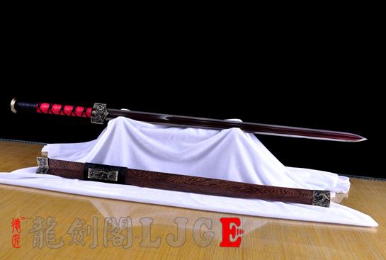 新合金四圣汉剑-百炼钢-可砍铁