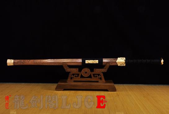简装双槽汉剑-百炼钢