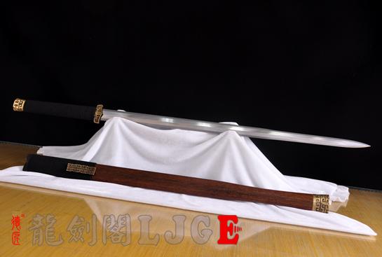 扁柄战国汉剑-羽毛钢