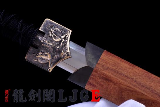 四圣兽八面汉剑-T10钢烧刃