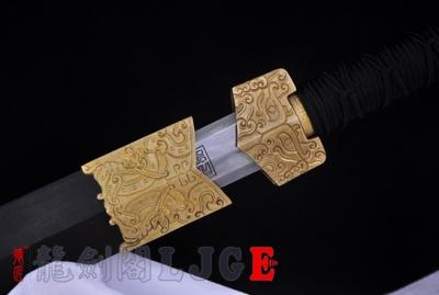 手雕新装八面汉剑-精炼羽毛钢