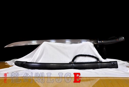 龙纹清刀-百炼钢烧刃