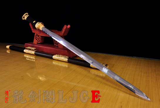 专利作品·龙装环首剑-德匠自炼钢