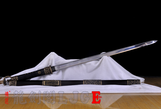 专利作品·龙装环首唐剑-夹钢(三枚合)