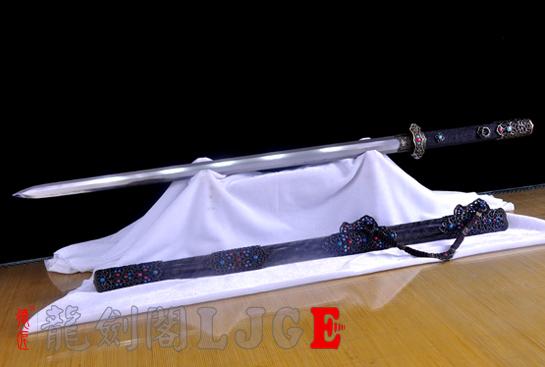 豪华八面唐剑-百炼钢烧刃