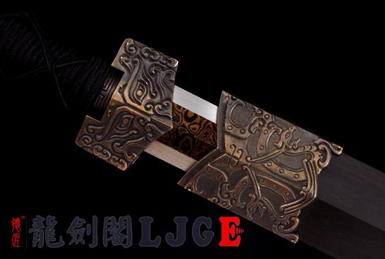 新饰纹八面汉剑-百炼钢