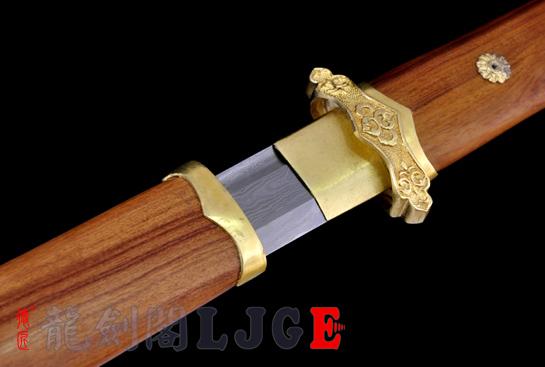 黄铜简装唐刀