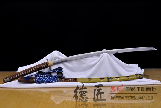 德川家康太刀-百炼花纹钢