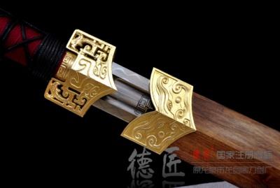 简装汉剑-T10钢烧刃