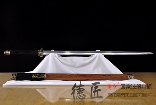 扁柄姜维汉剑-百炼钢